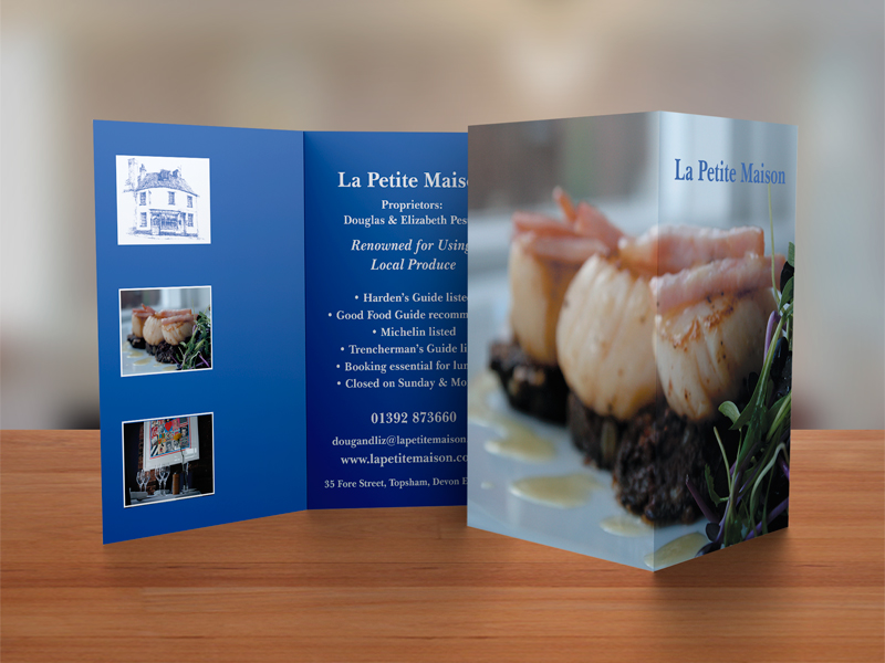 Le Petite Maison Business Card