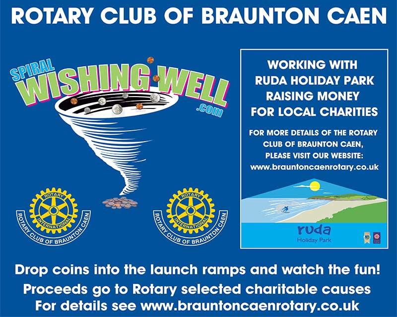Rotary Wishing Well